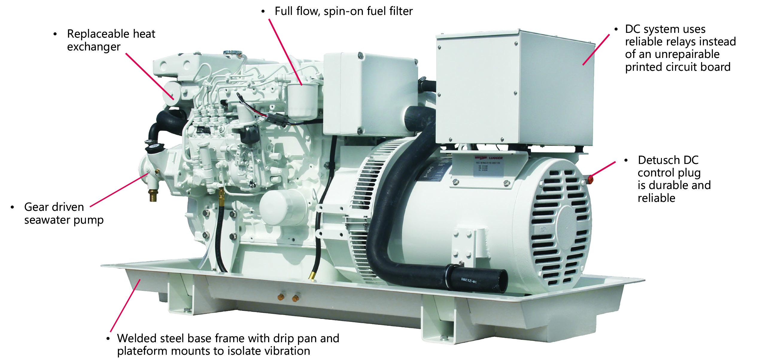 M944W3 – 30 kW 26 kW – Northern Lights Marine Generators And
